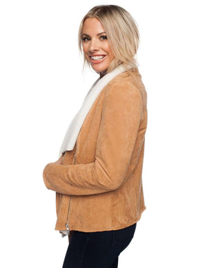 BuddyLove Hoda Coat - Mocha - Buddy Love Clothing Label