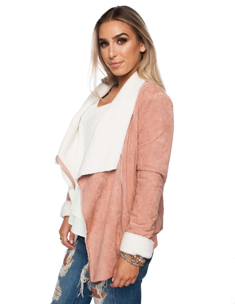 BuddyLove Hoda Coat - Pink - Buddy Love Clothing Label