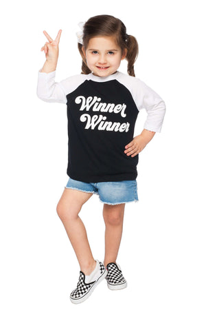 BuddyLove Beasley Toddler Tee - Winner Winner,2T / Black