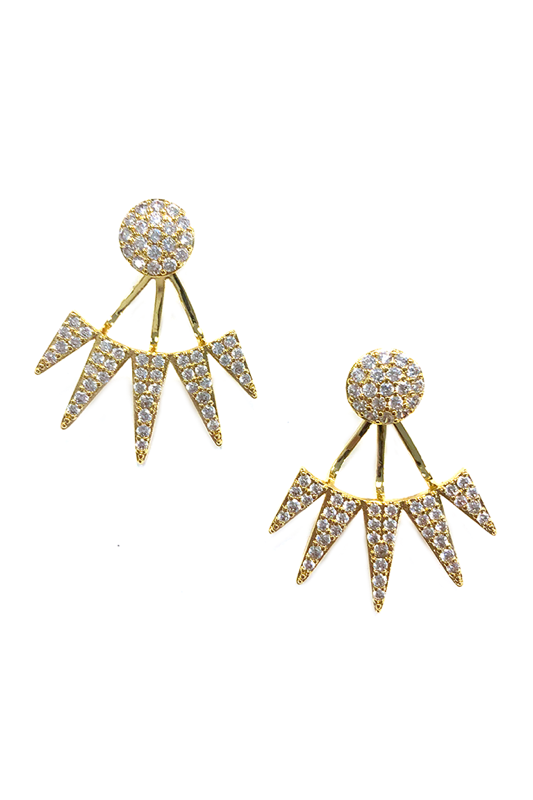 BuddyLove Nikki Stud Earrings - Gold