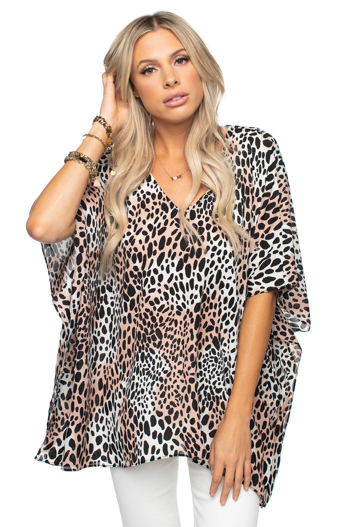 BuddyLove North Tunic - Cheetah