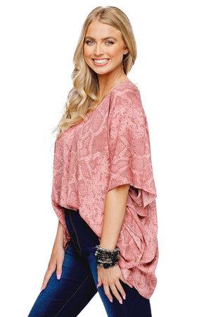 BuddyLove North Tunic Flowy Top - Clay - Buddy Love Clothing Label