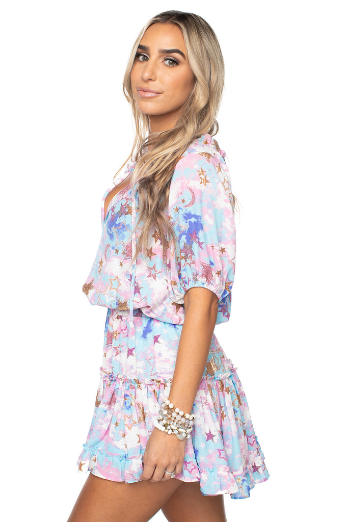 BuddyLove Ray Mini Dress Cloud 9