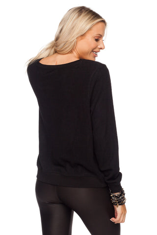 Rear of Long Sleeve Shirt