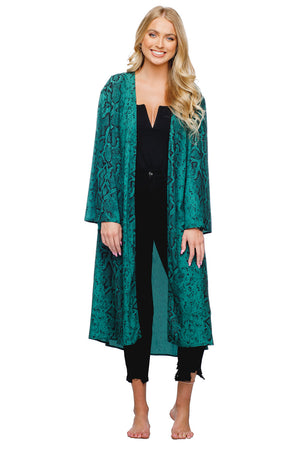 BuddyLove Roberts Medium Length Bell Sleeved Duster