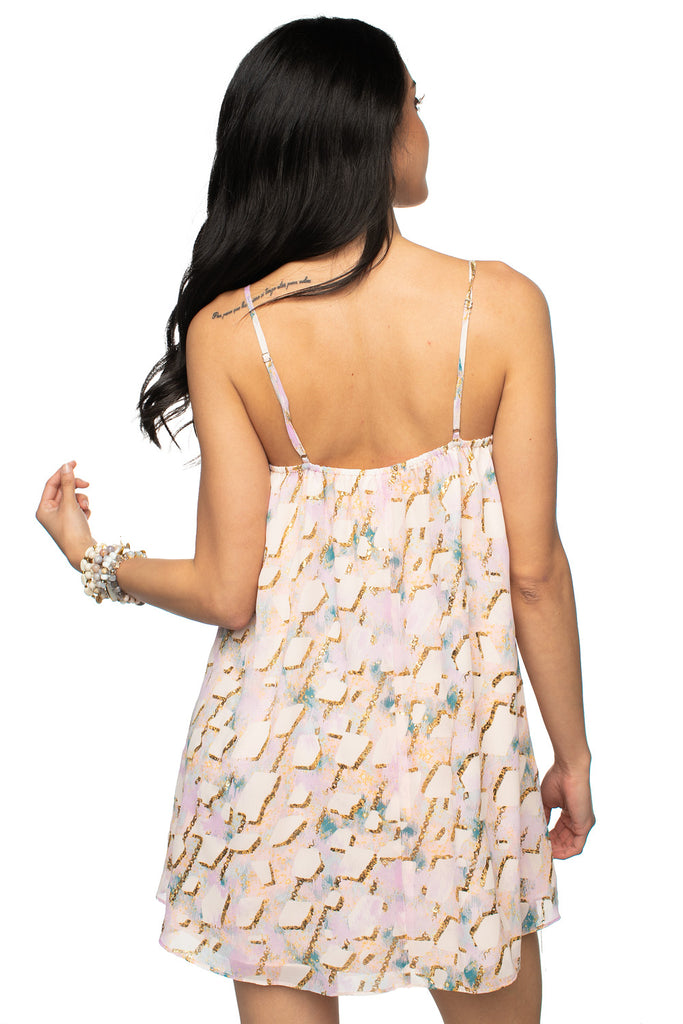 BuddyLove Sandra Swing Mini Dress - Magical