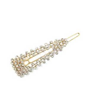 BuddyLove Krista Pave Hair Pin - Gold