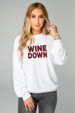 BuddyLove Keith Graphic Sweater - Wine Down