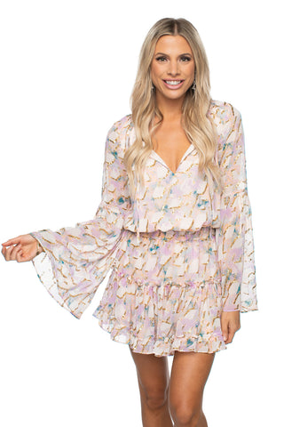 BuddyLove Zozo Elastic Waist Mini Dress - Magical