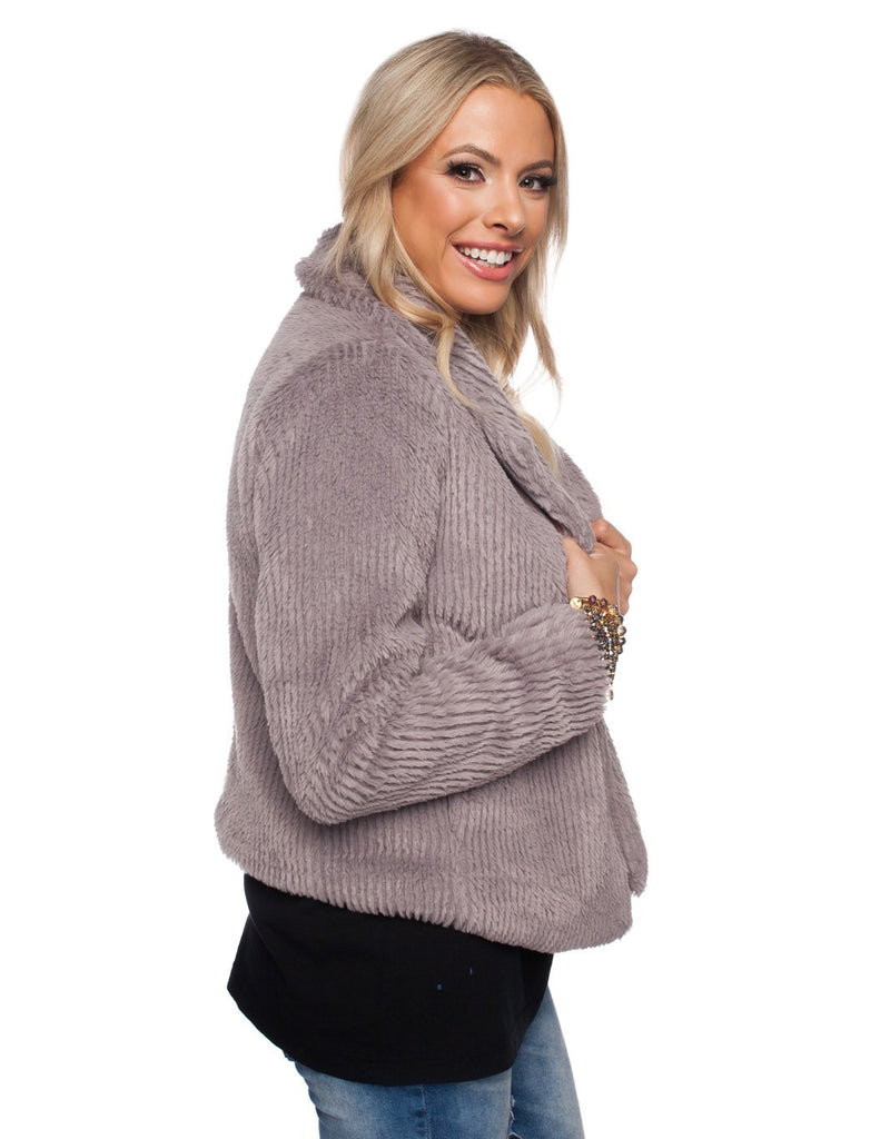 BuddyLove Grace Coat - Grey