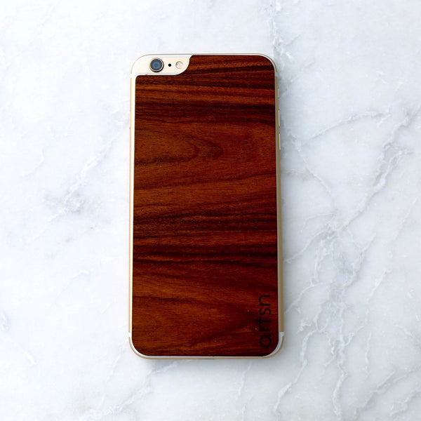 rosewood iphone skin