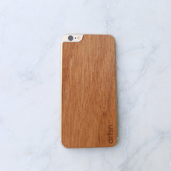 mahogany iphone skin