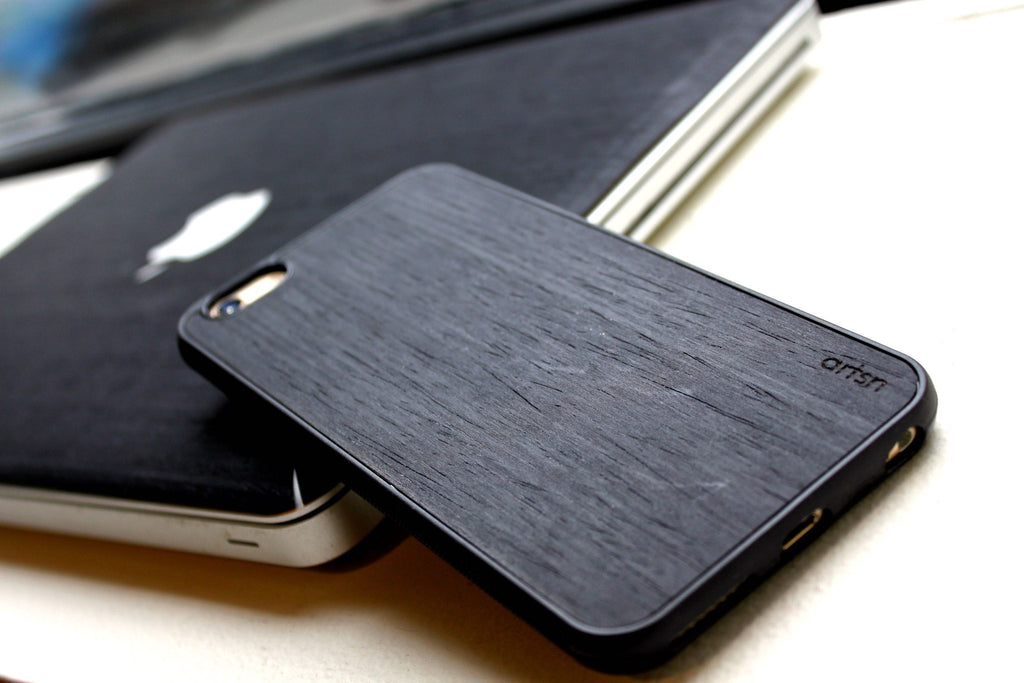 black ash premium iphone case