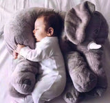 the elephant baby pillow