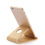 bamboo iPhone holder