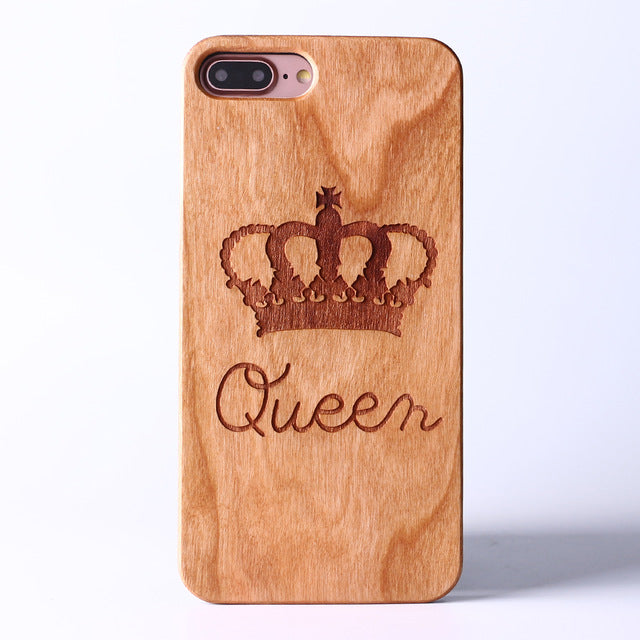 the LOVE wood case