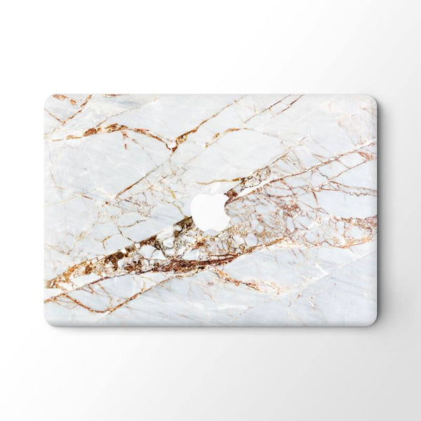 white rose gold marble