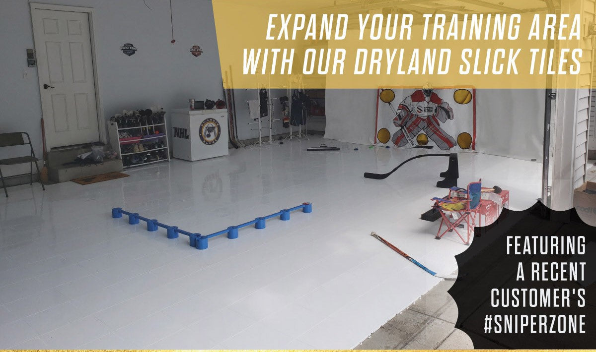 Why Slick Tiles?  When you talk to the best players at every level of hockey,