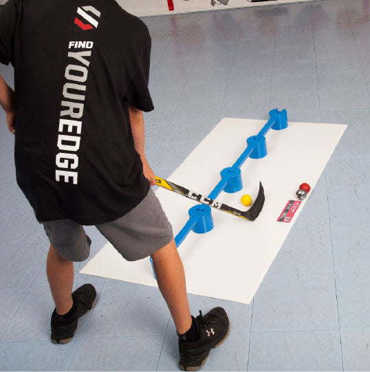 hockey stickhandling tiles