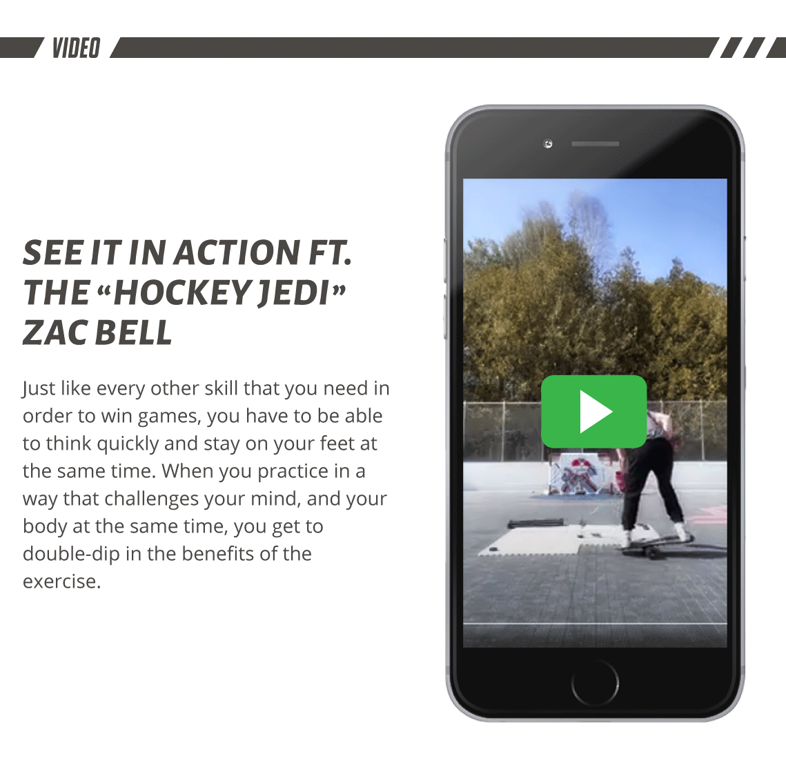 Hockey Balance Board Video