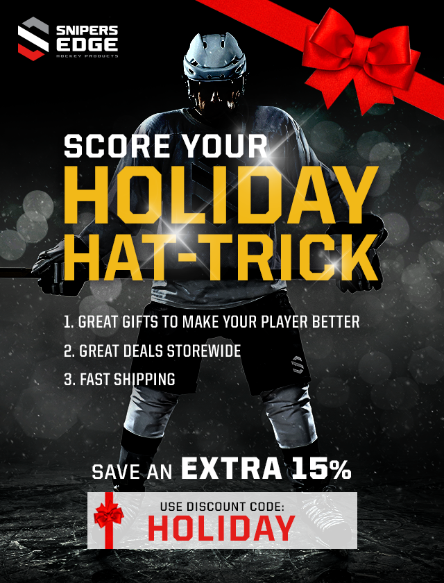 Snipers Edge Hockey Holiday Black Friday Cyber Monday Discount Coupon Code
