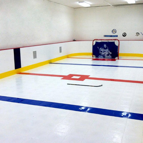 Sweet Hockey Slick Tiles - Home Training Area