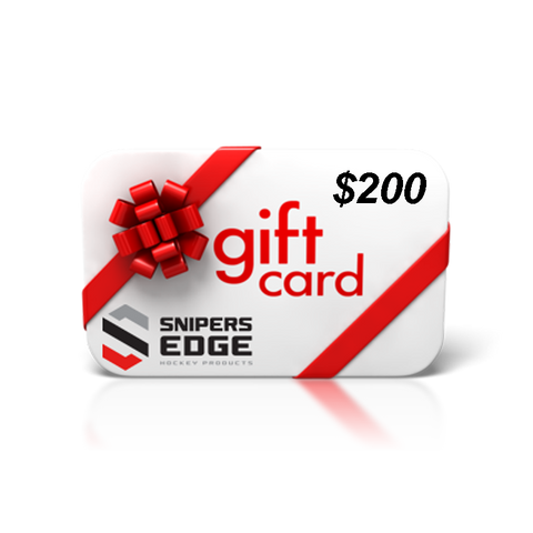 Snipers Edge Hockey Gift Card $200