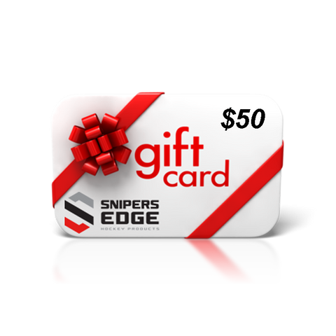 Snipers Edge Hockey Gift Card $50