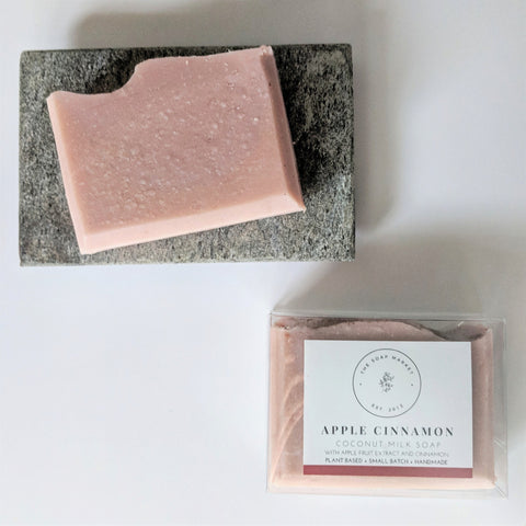 Apple Cinnamon Coconut Milk Soap