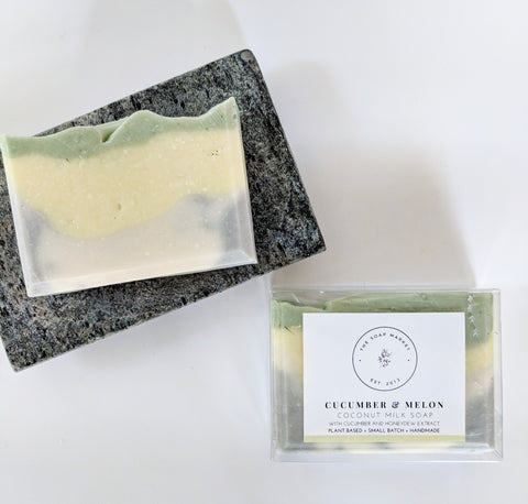 Cucumber & Melon Coconut Milk Soap