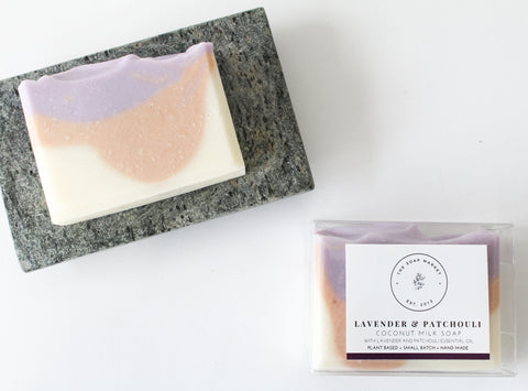 Lavender & Patchouli Coconut Milk Soap