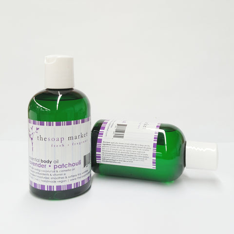 Lavender Patchouli Body Oil