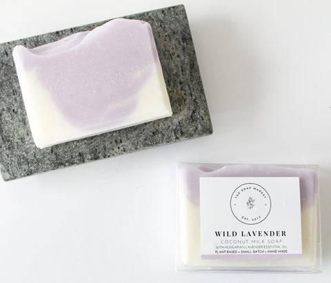 Wild Lavender Coconut Milk Soap
