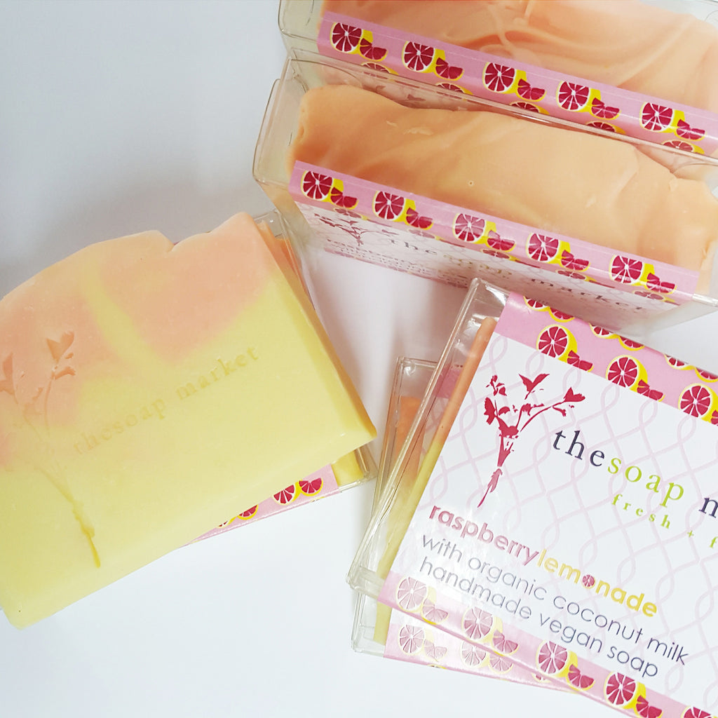 Raspberry Lemonade Coconut Milk Soap