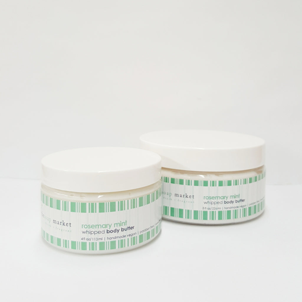 Rosemary Mint Whipped Body Butter