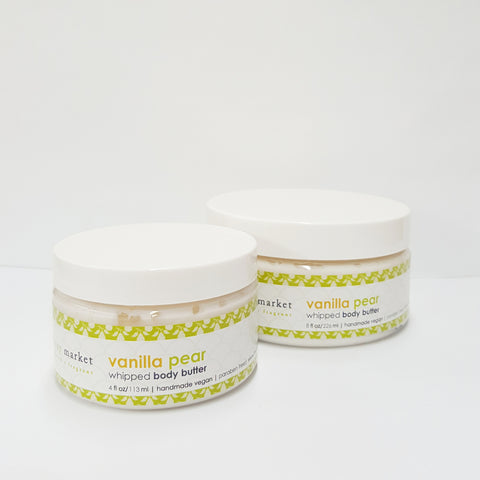 Vanilla Pear Whipped Body Butter