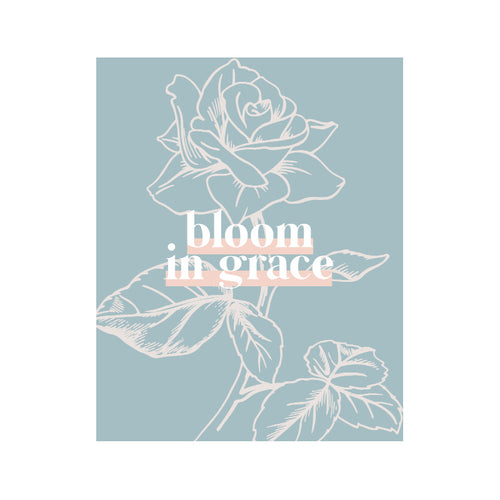 BLOOM IN GRACE (BLUE)
