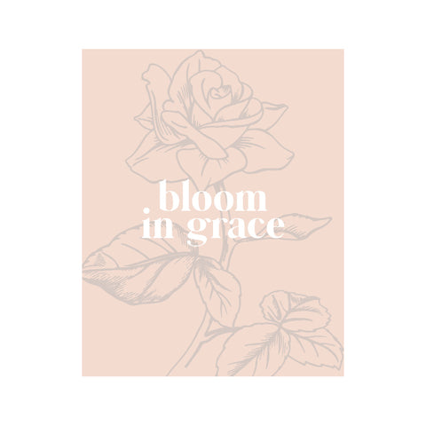 BLOOM IN GRACE (black)