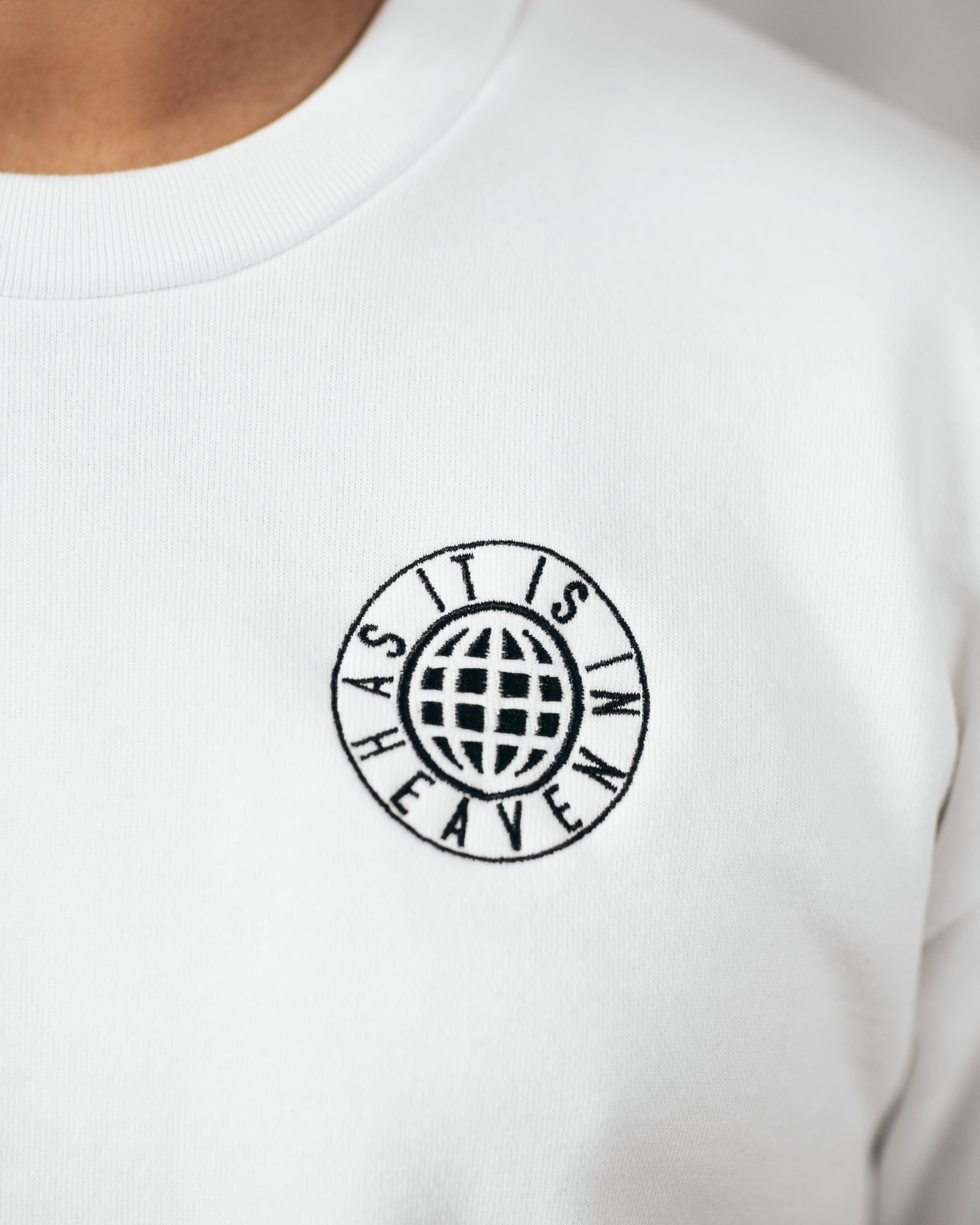 ON EARTH CREWNECK SWEATSHIRT