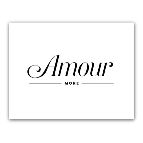 AMOUR MORE