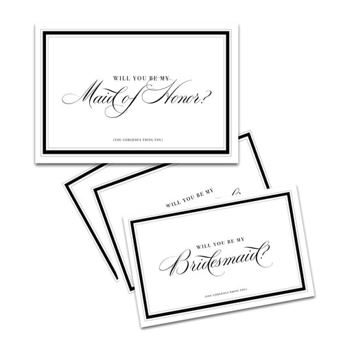 BRIDESMAID x MOH CARD SET