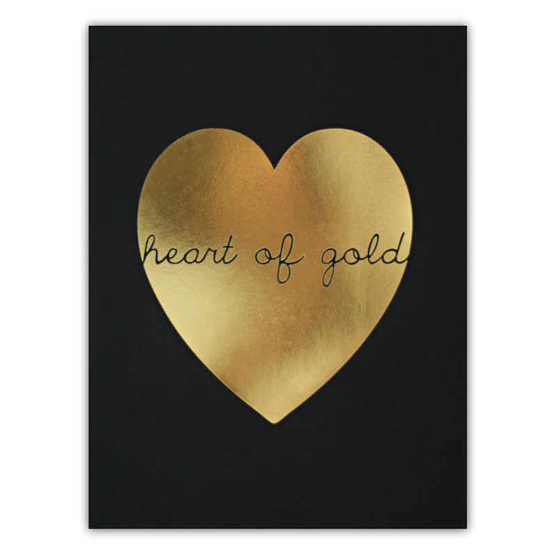 HEART OF GOLD (BLACK)