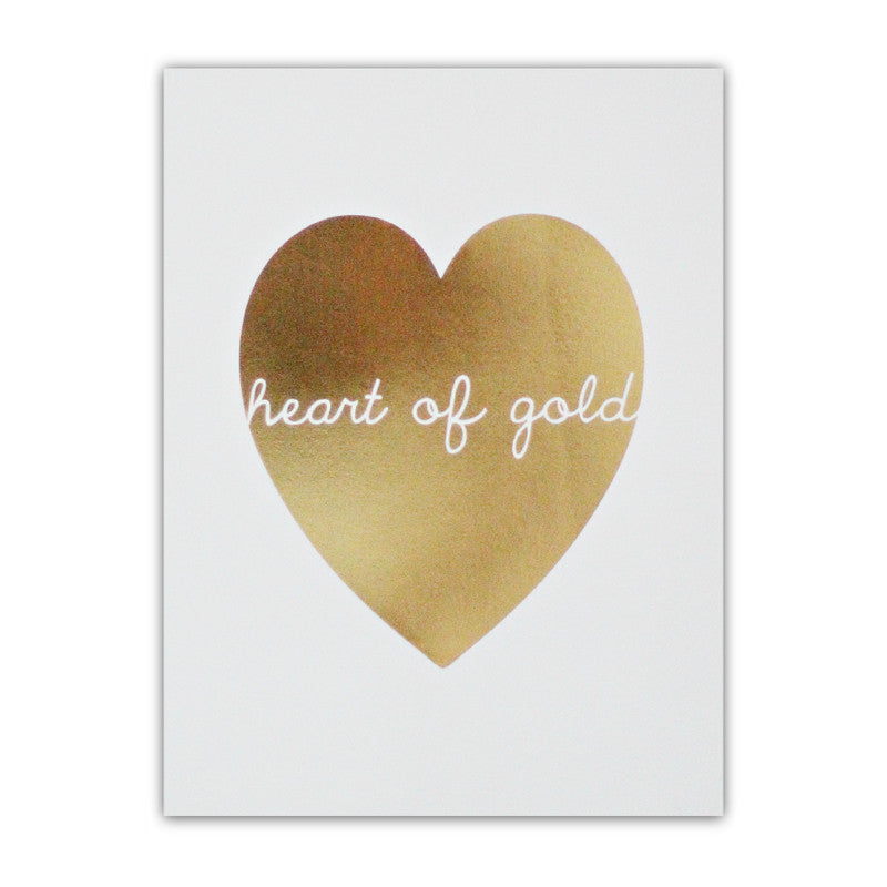 HEART OF GOLD (WHITE)