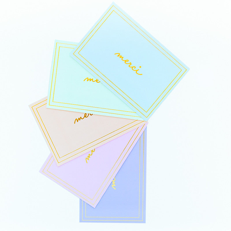 MERCI NOTECARD SET