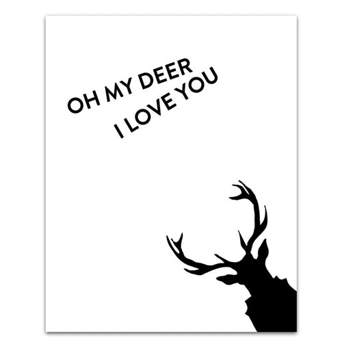 LOVE DEER WHITE