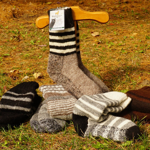 Double-knit and Reversible Bed Socks