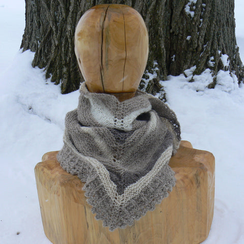 Large Triangular Neck Scarf