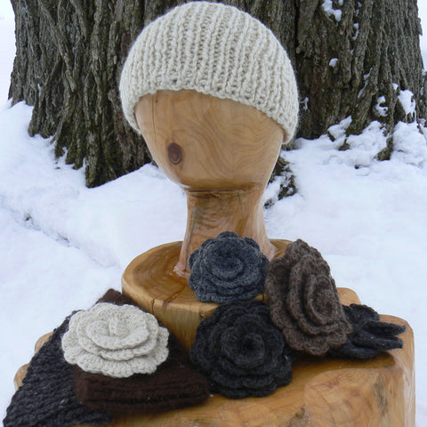 Mix and Match Ear Warmers and Detachable Flowers