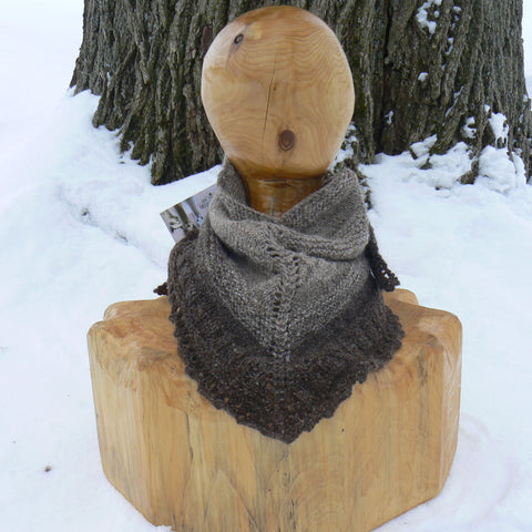 Small Triangular Neck Scarf