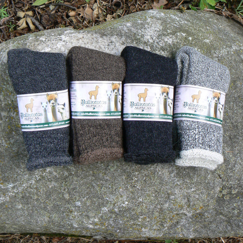 Heavy Weight Alpaca Terry Socks
